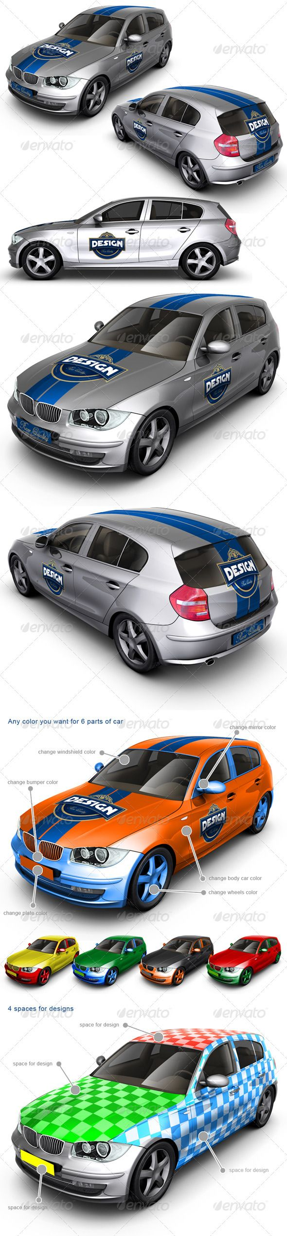 car mockup billboard mock up cars and mockup executive family car mock up