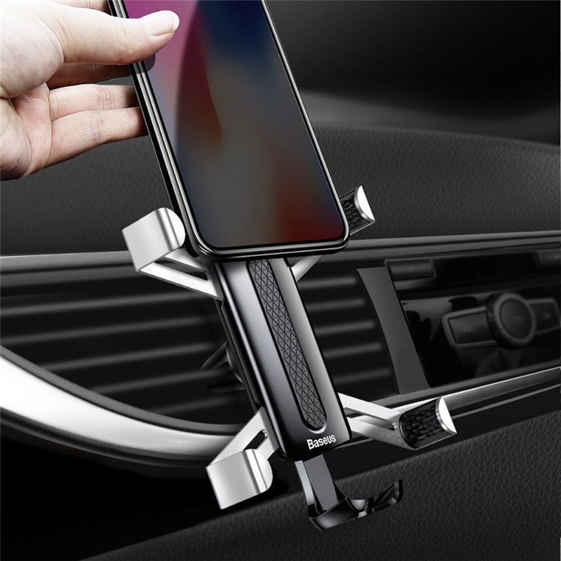 Baseus Spider Man Gravity Auto Lock Air Vent Car Phone Holder Stand