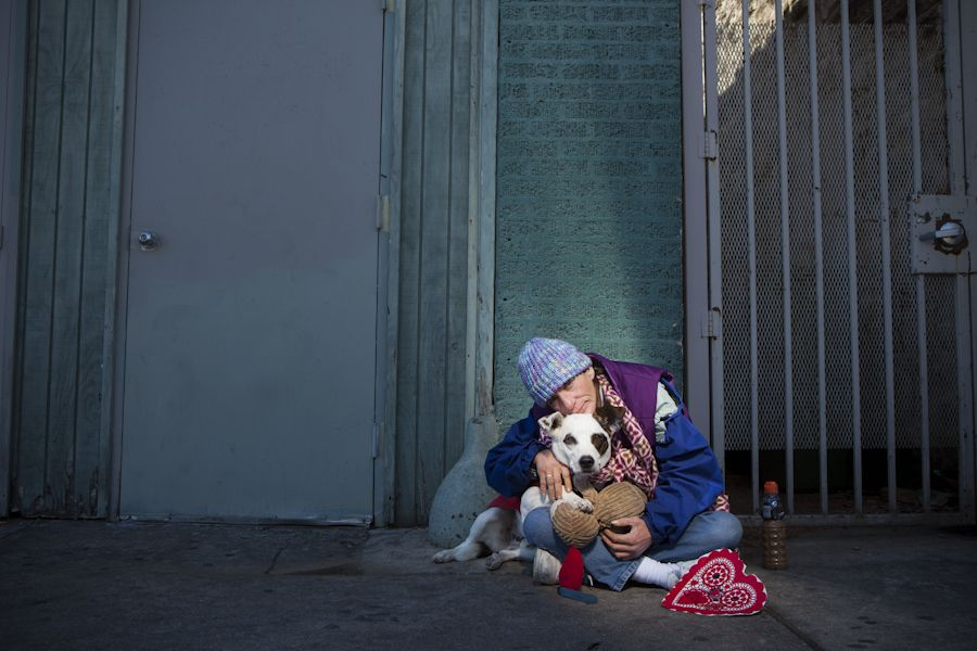 With Lifelines, photographer shines a light on homeless