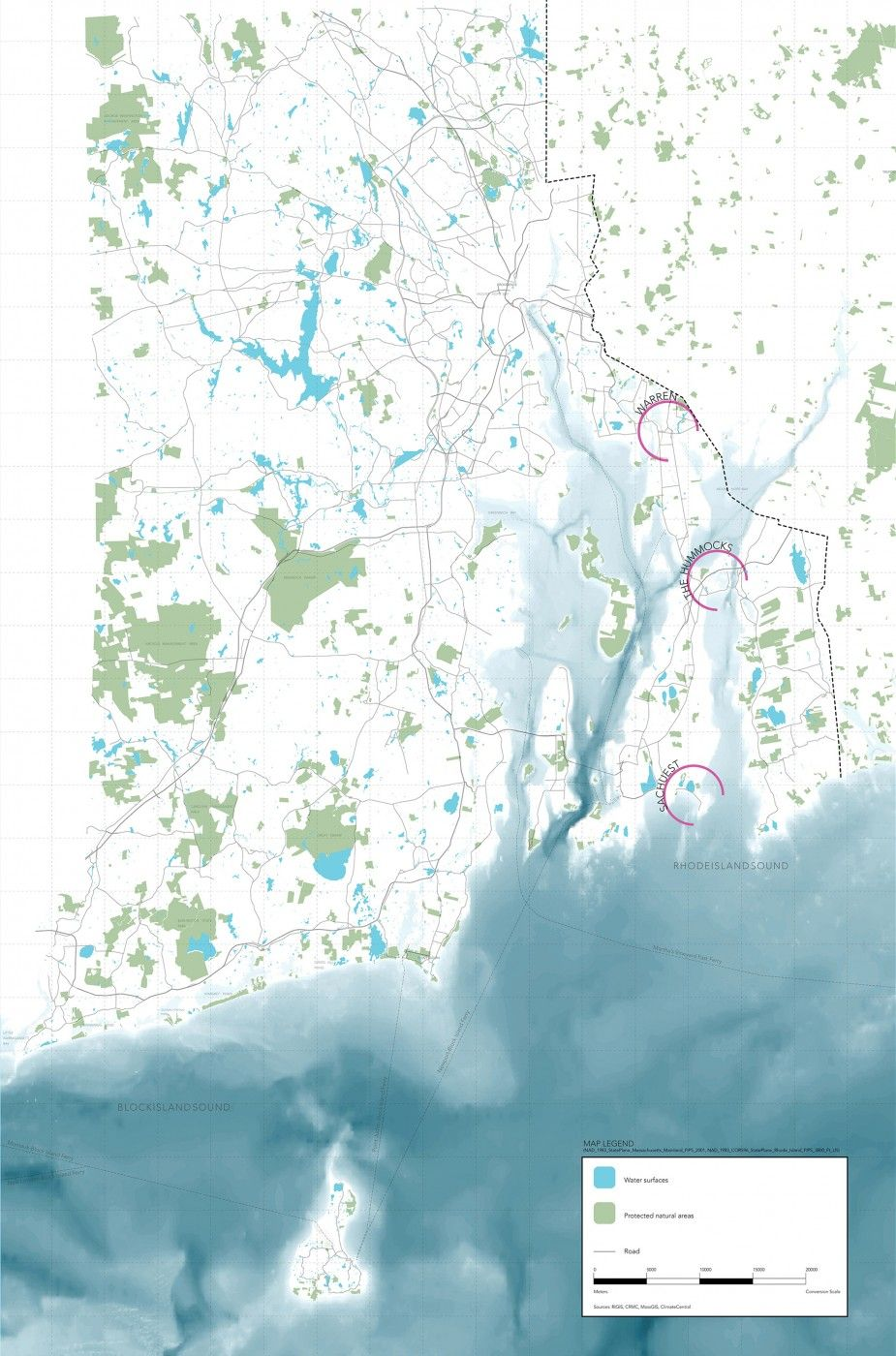 Narragansett Bay, RI Structures of Coastal Resilience
