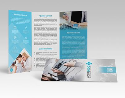 Medicaldec Trifold Brochure Brochure Template Brochures And Template
