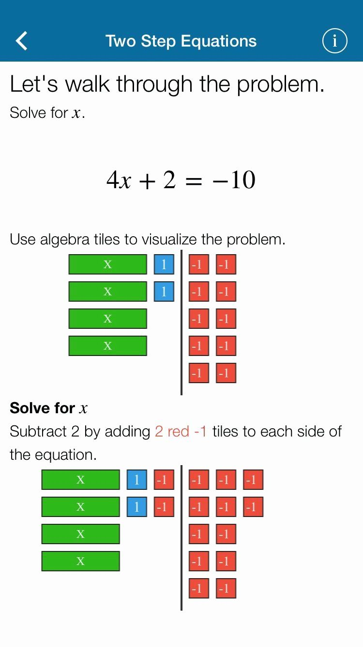 Modeling One Step Equations Worksheet Latest Mathematics App E Variable Equations 7 Ee A 1 Students One Step Equations Equations Solving Equations