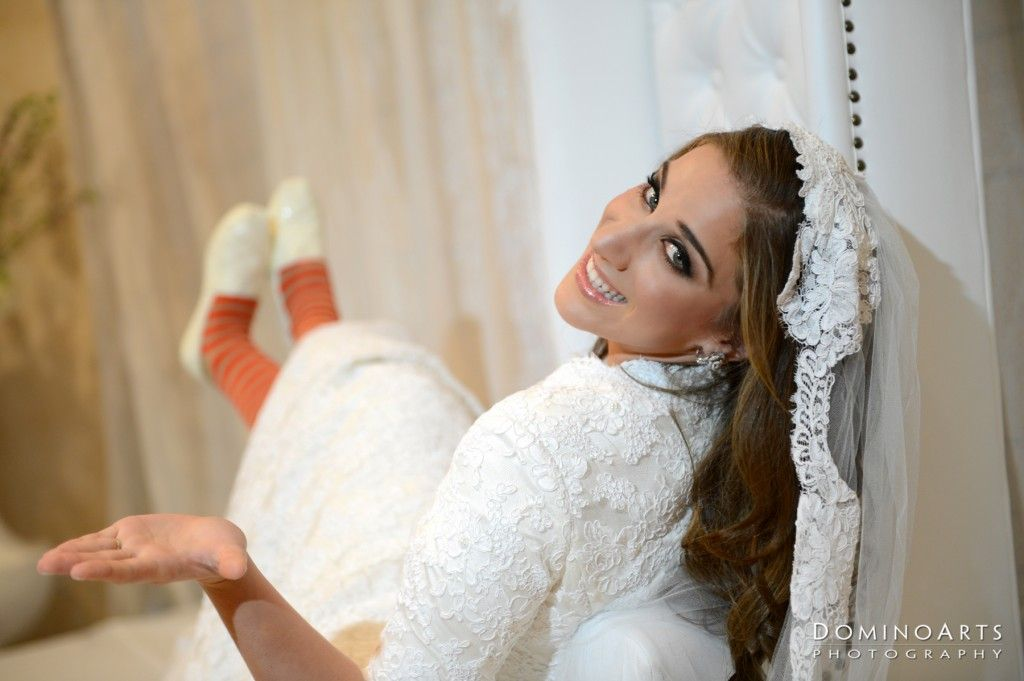 A beautiful wedding at Temple Beth Torah - Michal and ...