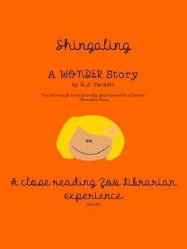 Shingaling A Wonder Story By R J Palacio Ccss Aligned Distance
