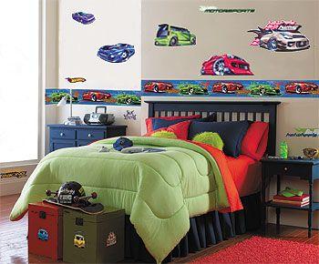 Wall Window Decal Sticker Super Fast Dragracing Cabriolet Car Childroom Teen room Bedroom Guestroom 091u