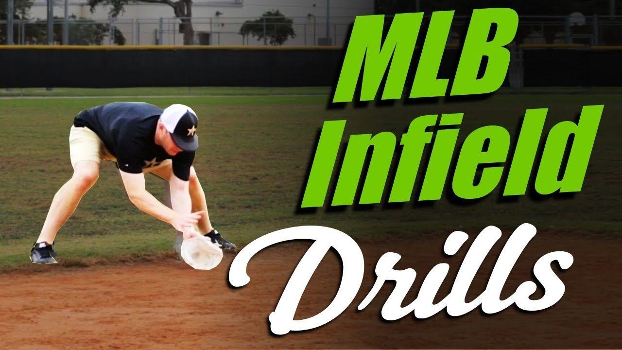 Mlb Infield Drills Hands Routine By Matt Antonelli Youtube Baseball Training Baseball Workouts Baseball Drills