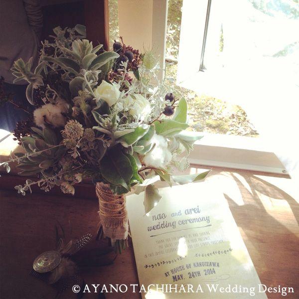 Wedding_Bouquetkaruizawa garden Wedding_ハワイウエディング_produced by AYANO TACHIHARA Wedding Design 軽井沢ガーデンウエディング、邸宅ウエディング