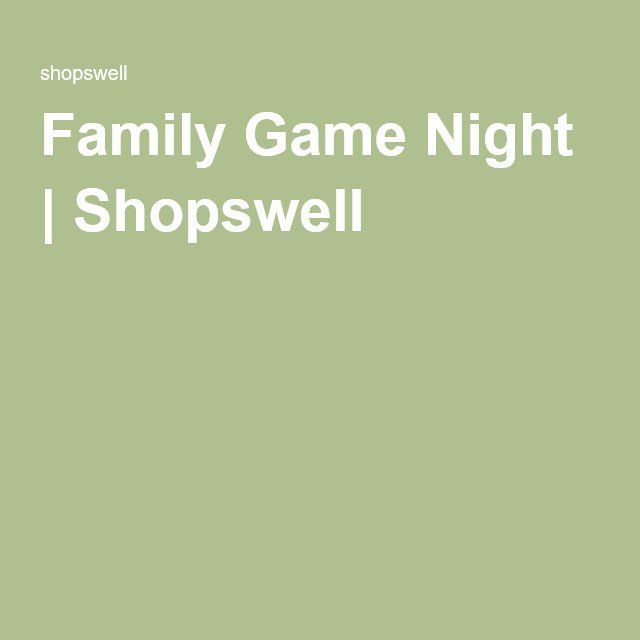 Family Game Night | Shopswell