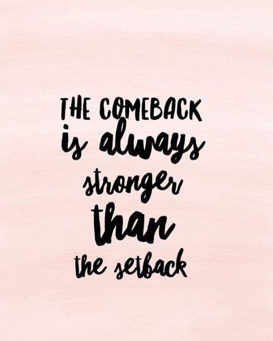 … &&& I'm BACK!