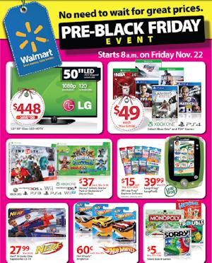 Walmart Black Friday Deals For November 22nd Pre Black Friday Sales Pre Black Friday Black Friday Ads