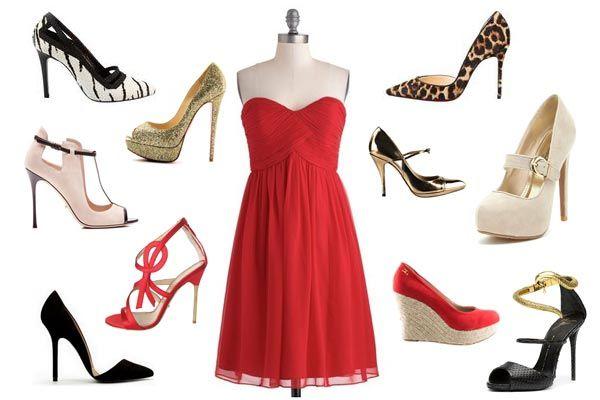 Te Gusta El Rojo Aprende A Combinar Un Vestido Rojo Con