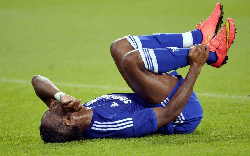 Didier Drogba's injury not as bad as feared as striker