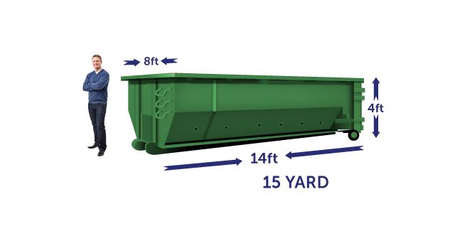 Dumpster Sizes 10 15 20 30 40 Yard Dumpsters For Rent Dumpster Sizes Rent A Dumpster Dumpster Rental