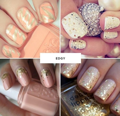edgy wedding nail ideas