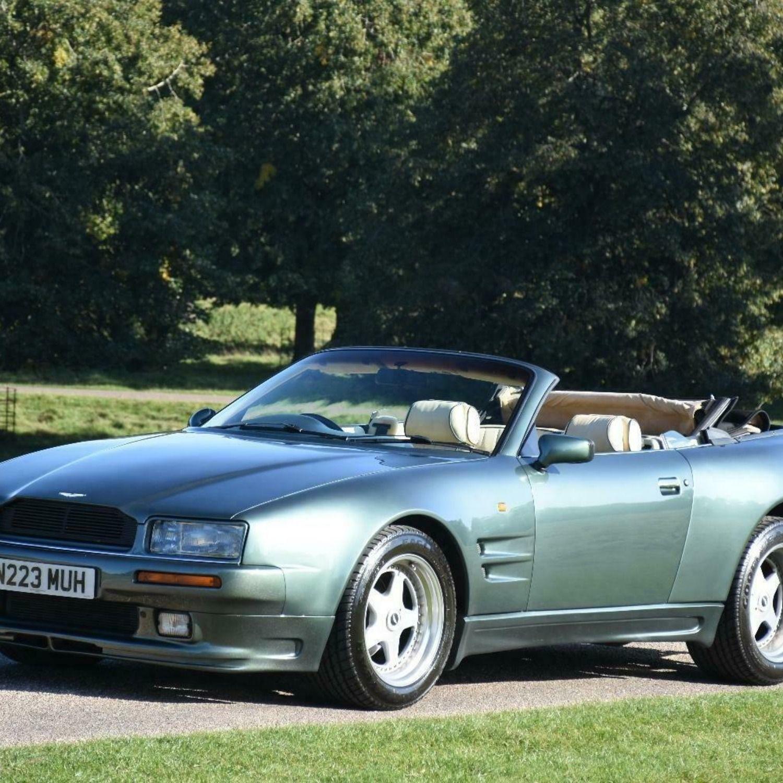 1995 Factory Wide Body Aston Martin Virage 5.3 Volante