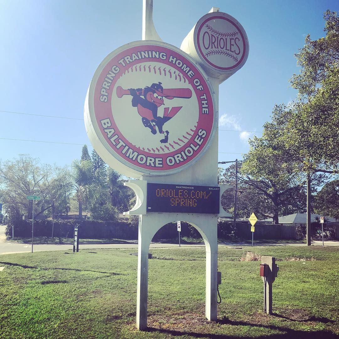 Fan Appreciation Day At Orioles Spring Training Sarasota Mlb Orioles Baltimore Edsmithstadium Springtraining Ba Spring Training Fan Appreciation