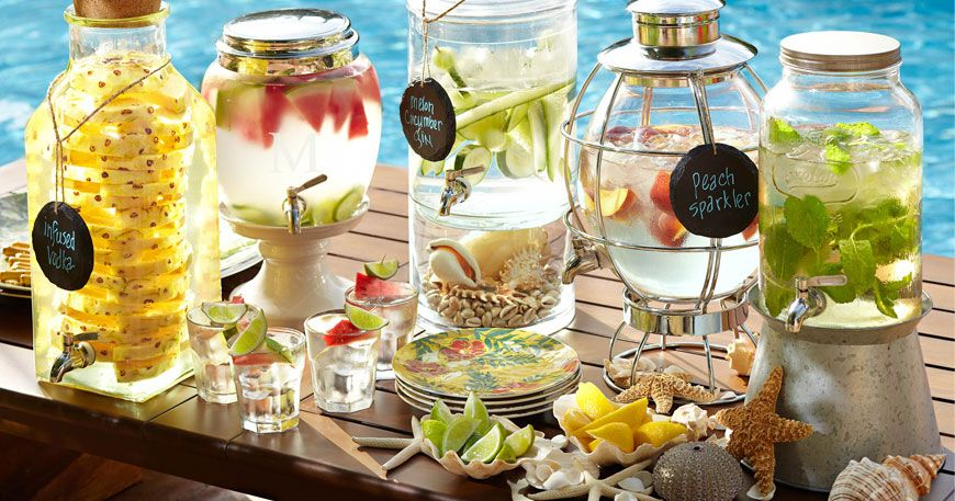 Decorative Jars Fabulous For A Wedding Or Outdoor