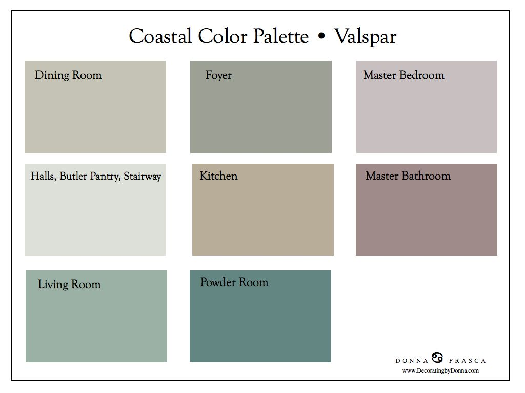 Nothing says spring like a fresh coat of paint in your - Interior paint color palette combinations ...