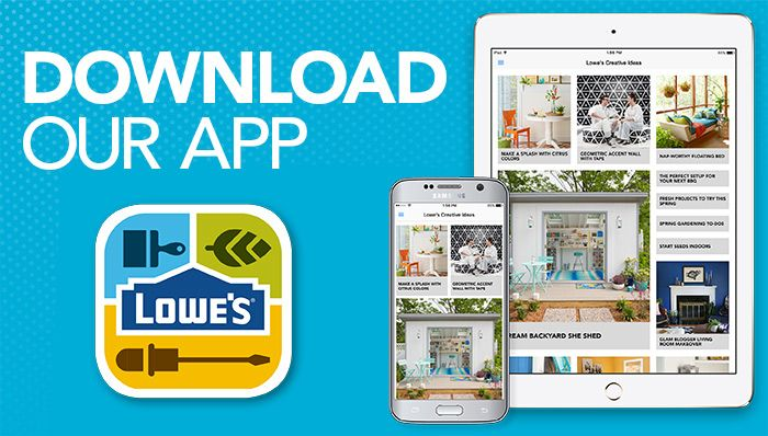Lowes Creative, App, Home Improvement