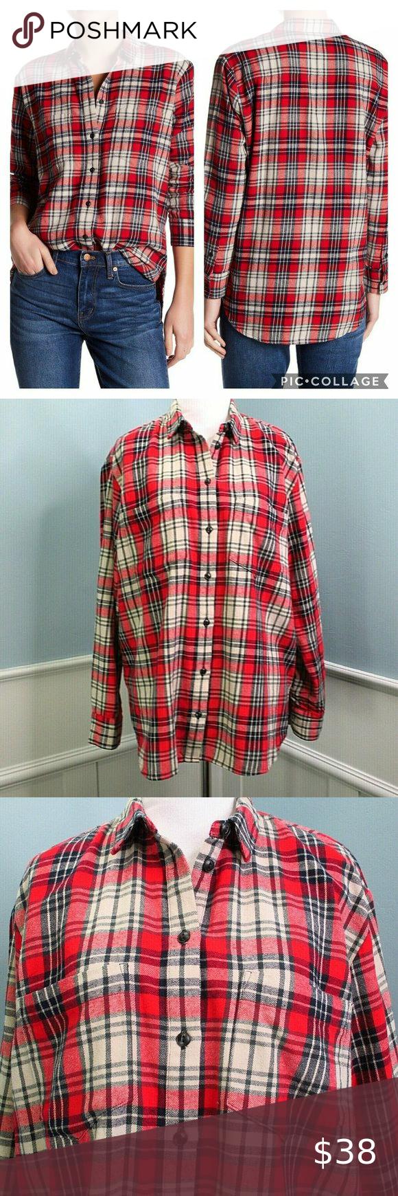 90s Plaid Shirt Womens Large Zip Up Shirt Oversize Tartan Blouse Brown Black Short Sleeve Top Checked Print Zippered Over Shirt Size L