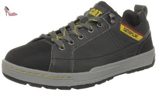 Caterpillar Brode S1P, Chaussures de sécurité homme, Noir (Pepper), 45 EU (11 UK)