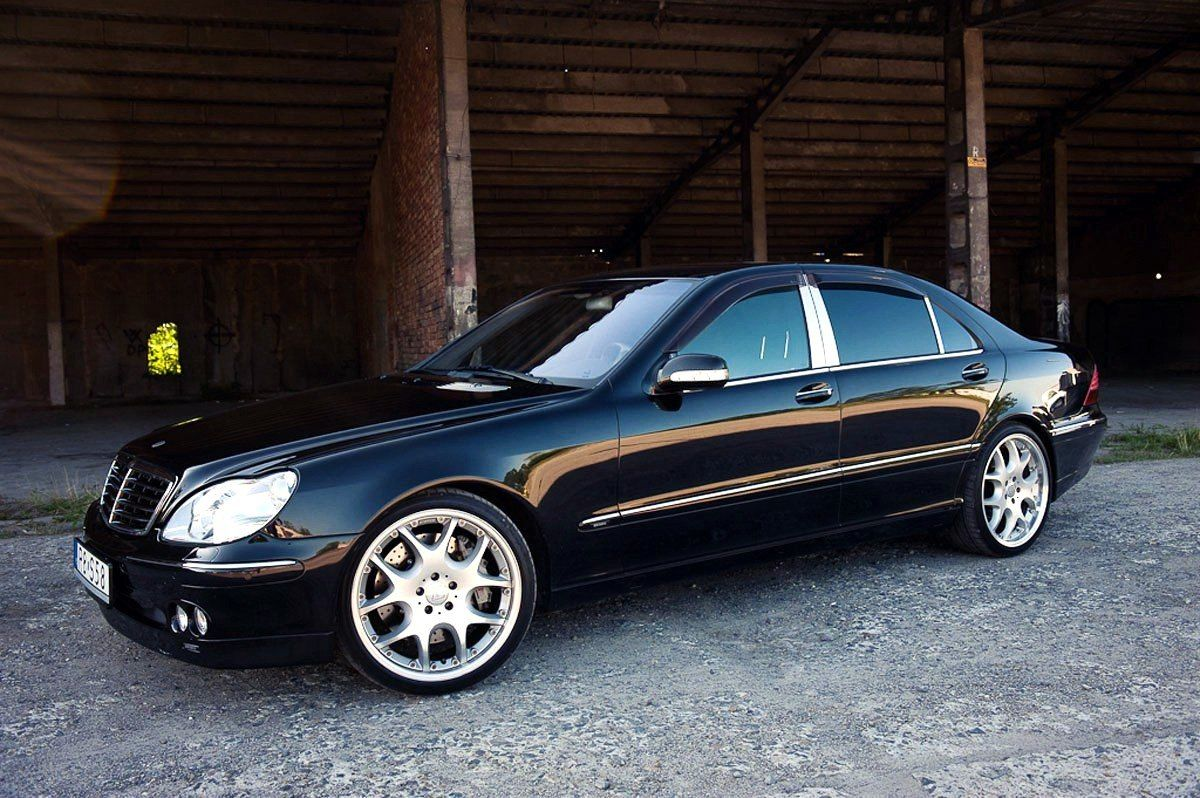 1999 mercedes benz w220 s500 brabus 5 8 merc benz s. Black Bedroom Furniture Sets. Home Design Ideas