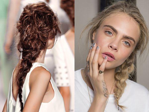 hair-trends-2014-messy-plaits | Hair | Pinterest | Hair trends ...