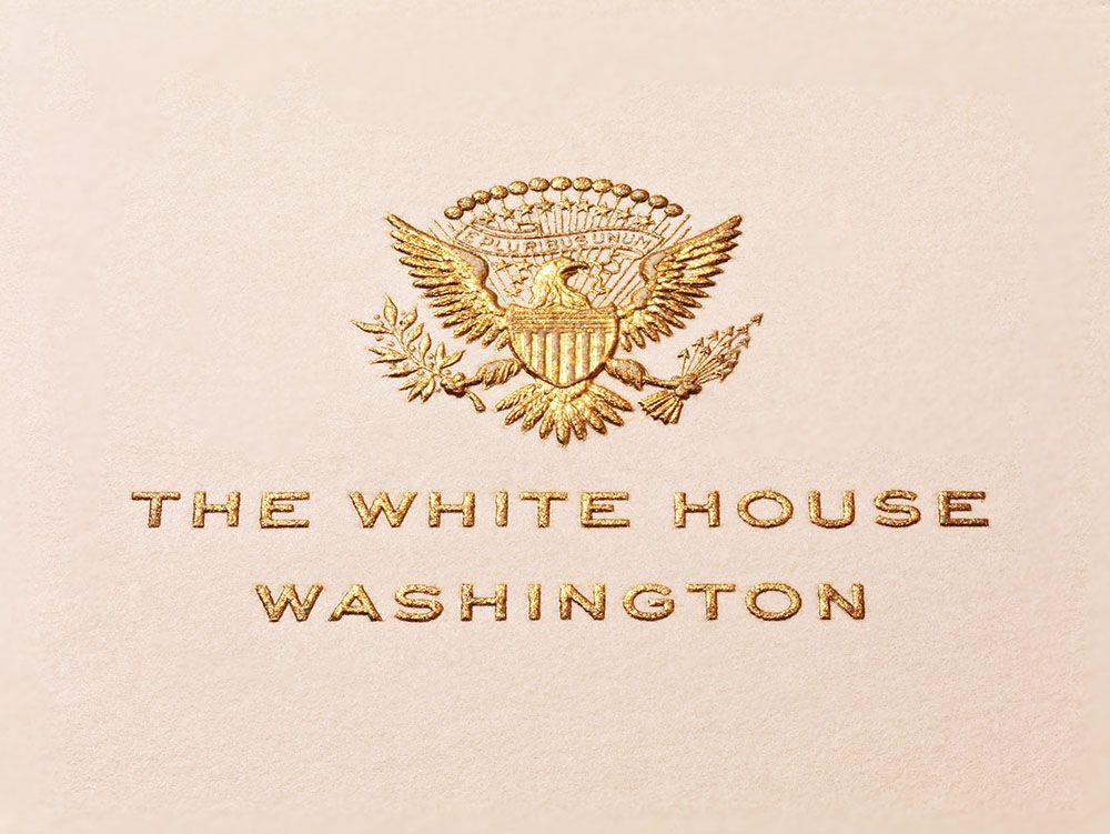 Presidential Stationery  Annie Dean  Presidential Stationery