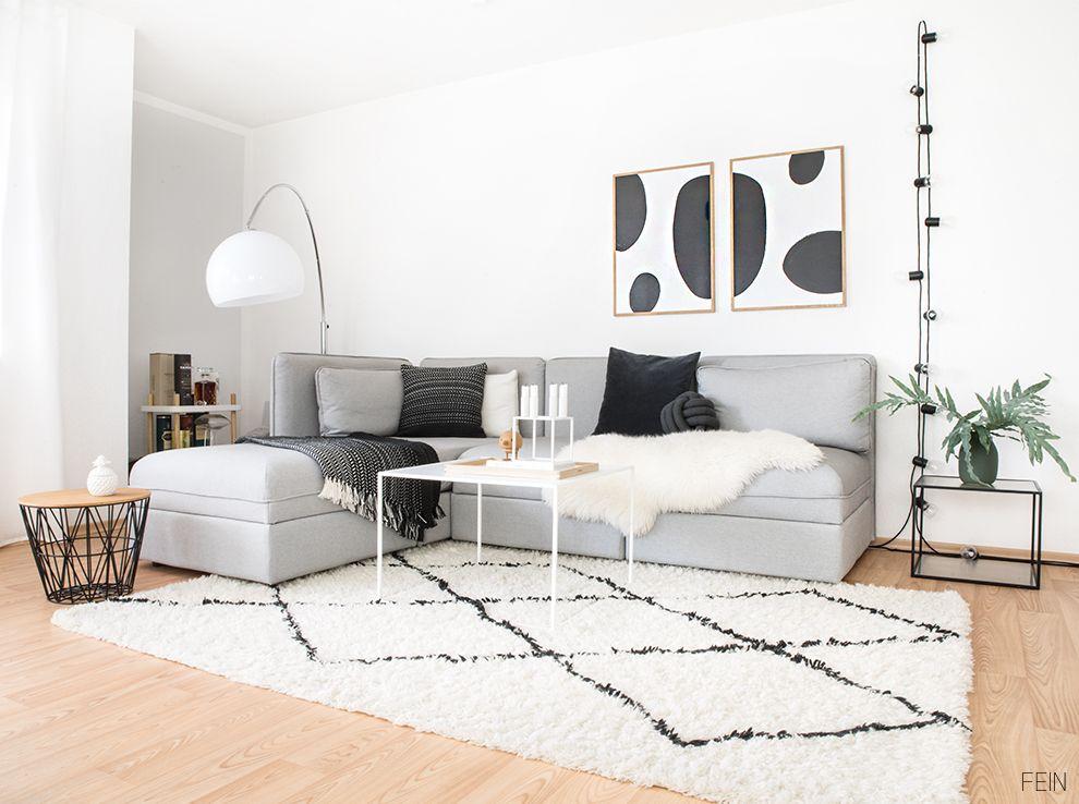 Interior Guide schwarz weiße Einrichtung