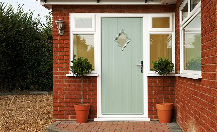 Front back doors internal external doors anglian for Reclaimed upvc doors