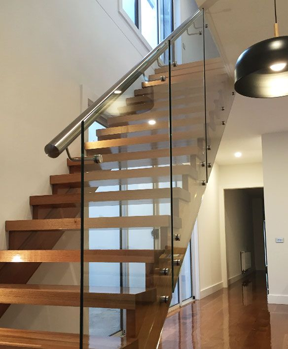 Best Glass Balustrade For Stairs Glass Stair Balustrade 640 x 480