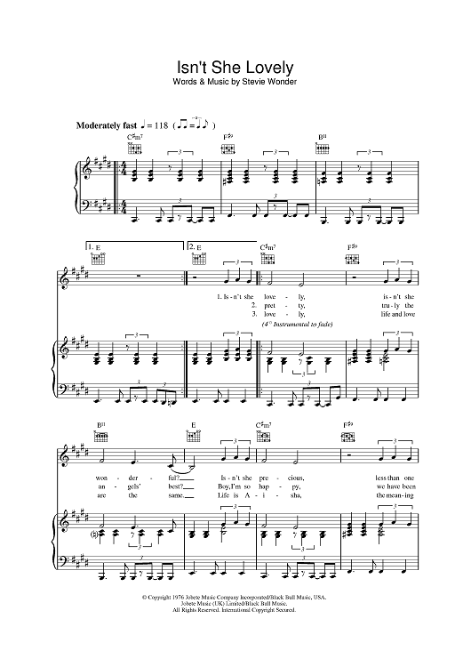 Isnt She Lovely Baby 20 Pinterest Sheet Music Pianos And