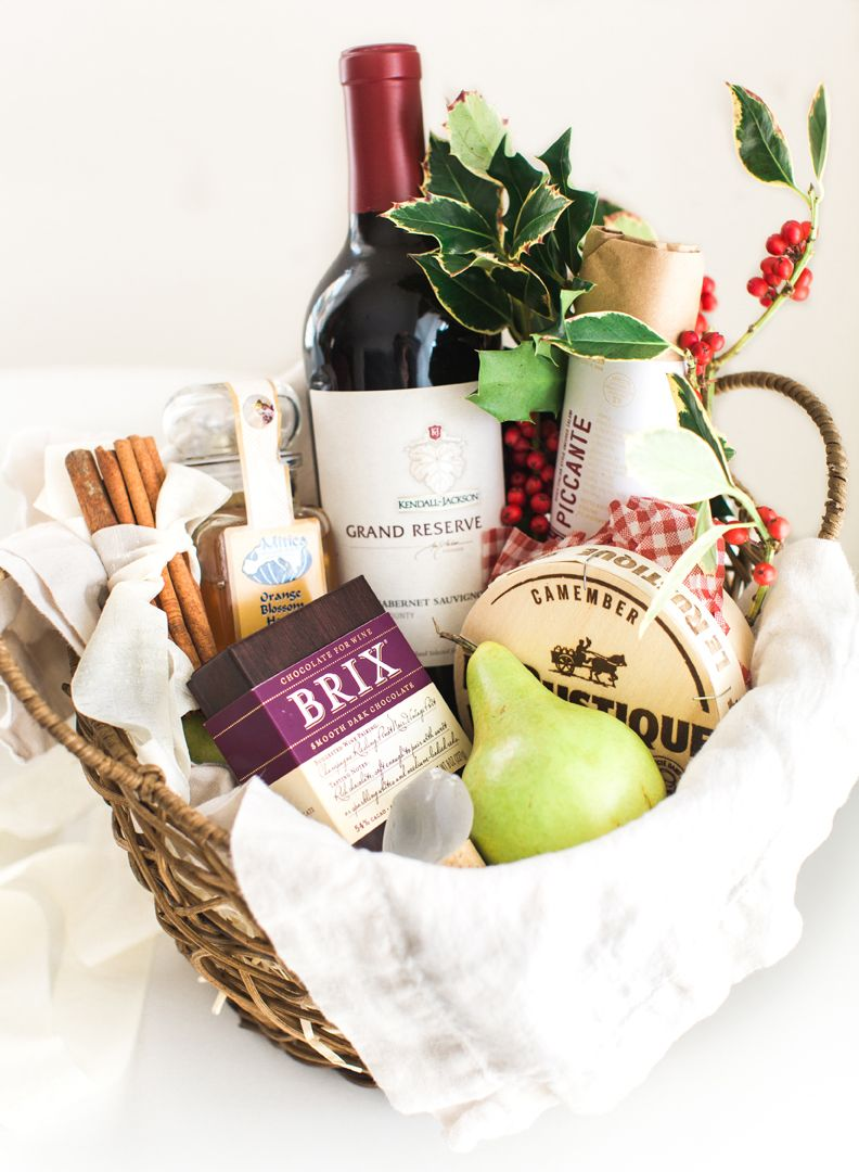 Holiday Gift Basket Wine Stopper Diy Diy Wine Gift Baskets