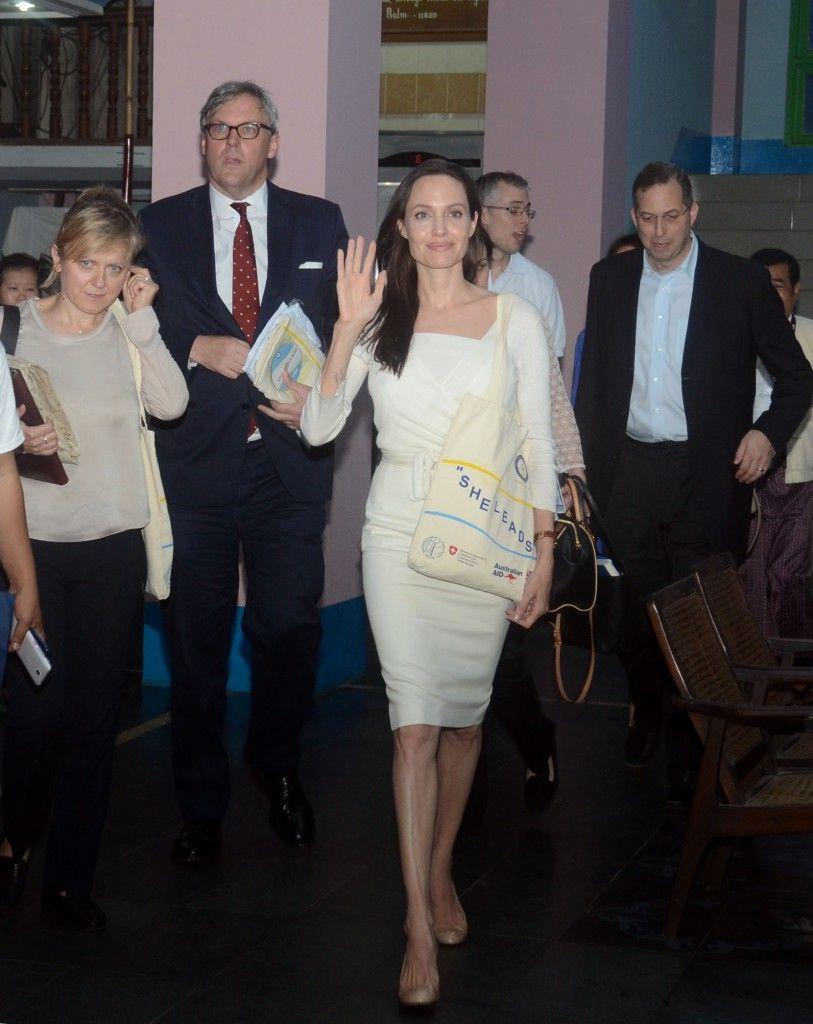 Angelina Jolie Makes Her Special Envoy Debut In Front Of The UN In New York Angelina Jolie Makes Her Special Envoy Debut In Front Of The UN In New York new pictures