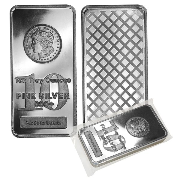 10 Troy Ounces Fine Silver Silver Bars Silver Silver Bullion