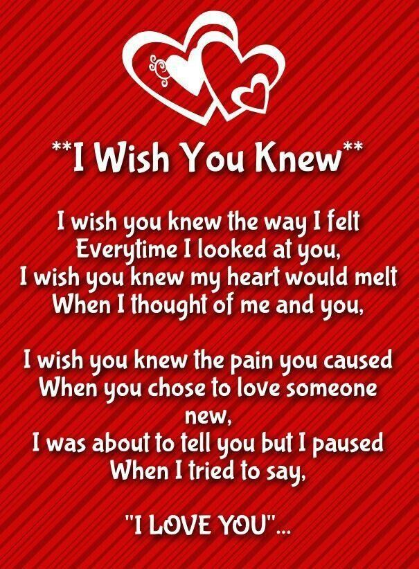 Romantic rhyming love poems