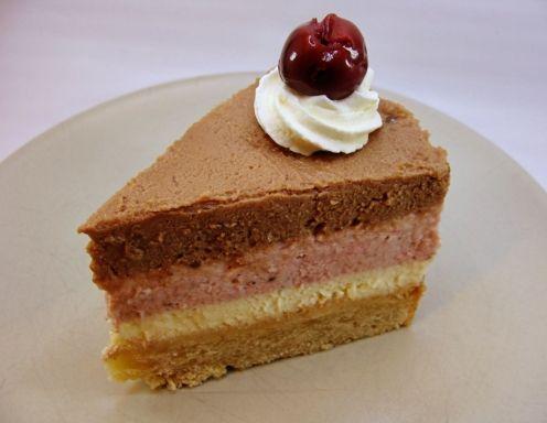 Bananensplit Cheesecake - Rezept - ichkoche.at