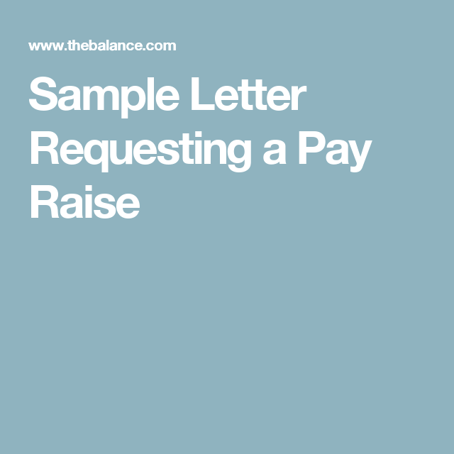 Example of a letter asking for raise raising example of a letter asking for raise spiritdancerdesigns Images