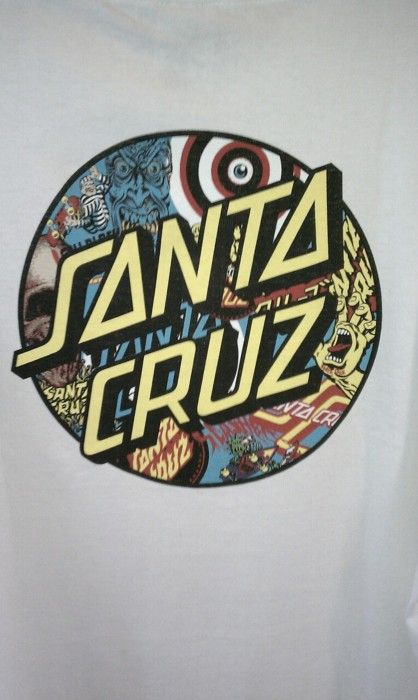 Santa Cruz Skateboard logo, Surfboard stickers