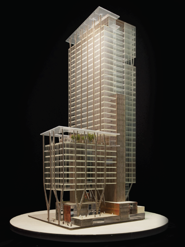 This Is The Preliminary Design For Skanska S Latest Project An Office High Rise A Architecture Model Making Office Building Architecture Architecture Design
