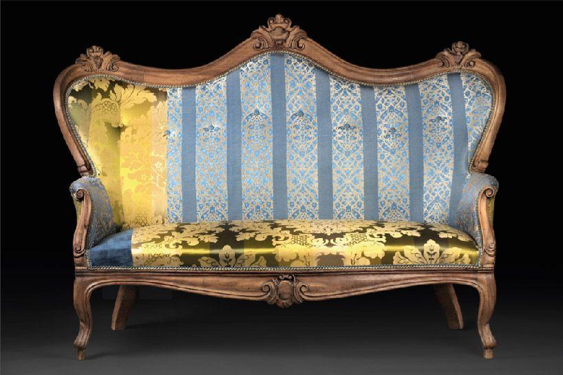1850s italian sofas remade by ale de vecchi design