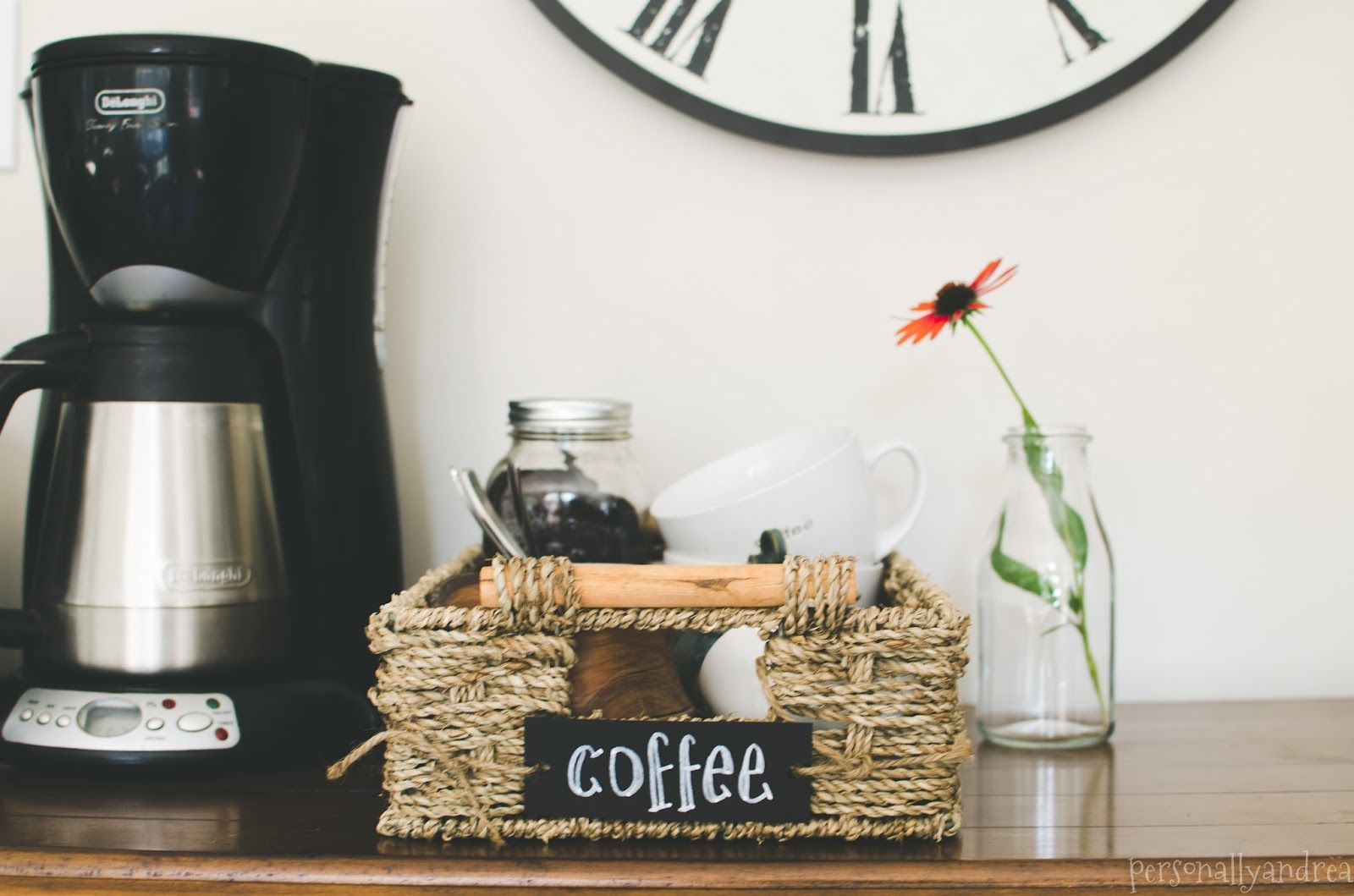 How to Set Up a Coffee Station   Organizations, Kitchens and Coffee ...