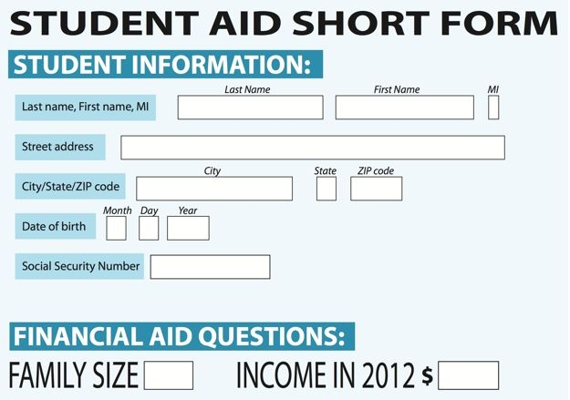 Two US Senators Proposed To Shorten And Simplify The Fafsa Form