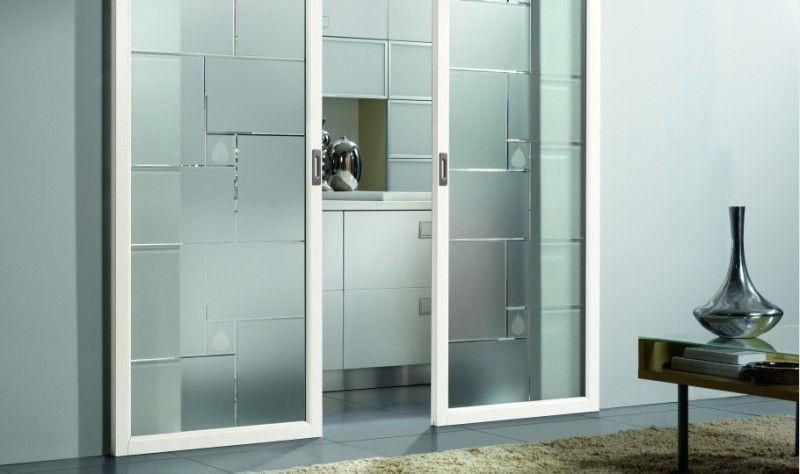 Separare la cucina dal soggiorno | porte interne in vetro ...