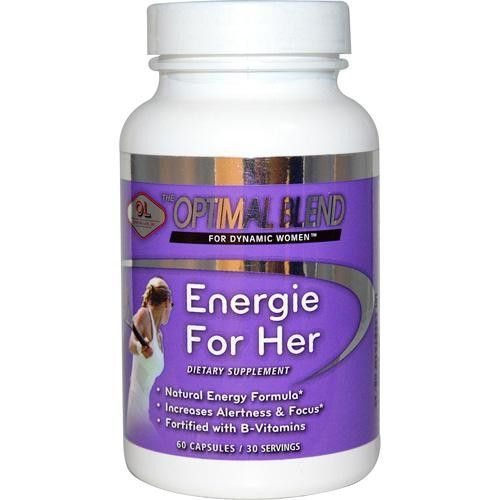 Optimal Blend Energie For Her - 60 Capsules