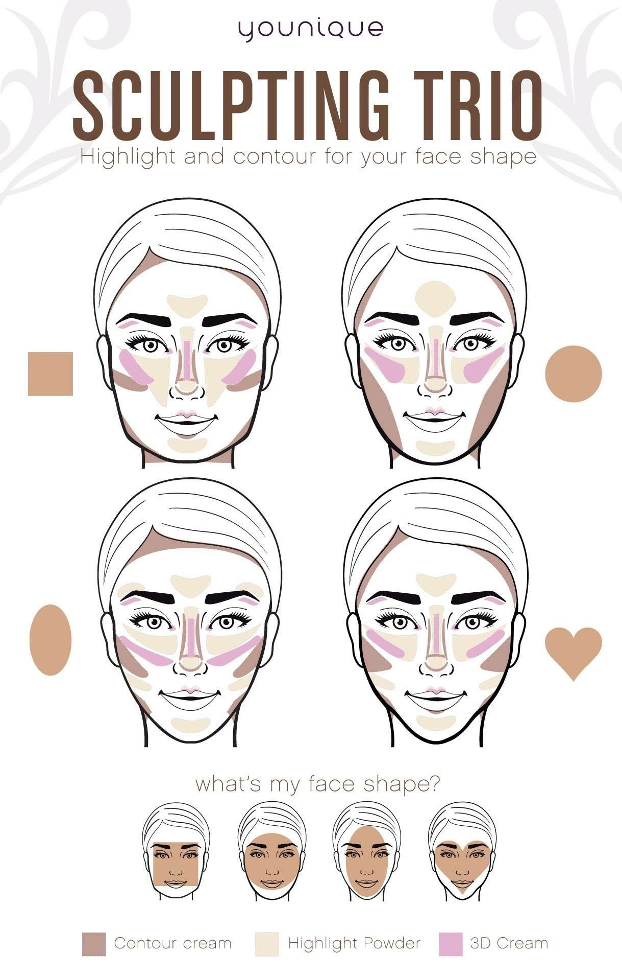 How to get a flawless face in less than 5 minutes the new how to get a flawless face in less than 5 minutes the new highlighter and contour ccuart Gallery