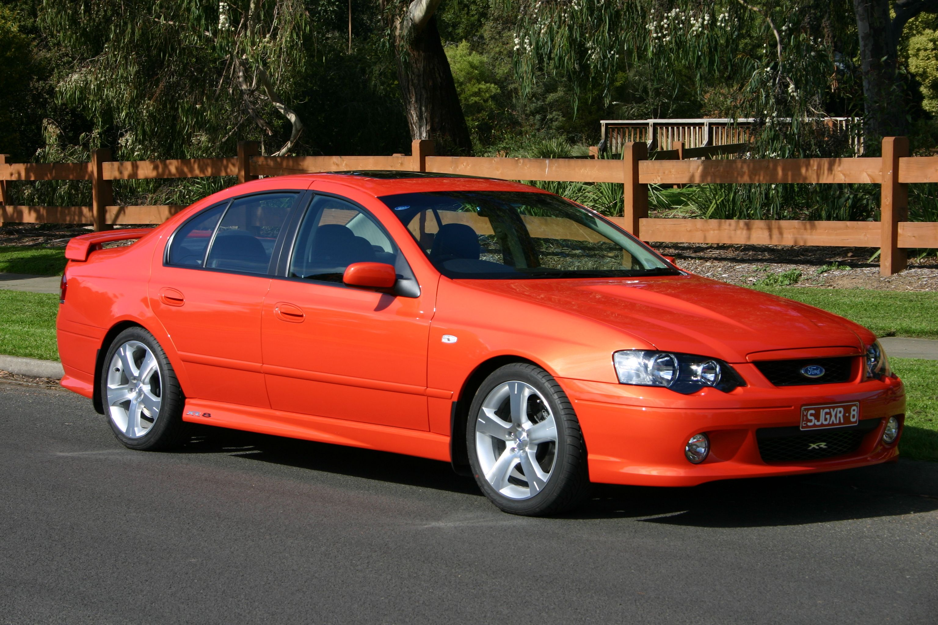 Ford 2004 Falcon BA XR8 BOSS 260 5.4L | My old Cars and ...