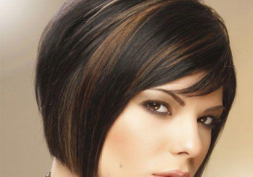 Schwarze haare mit blonden strähnen