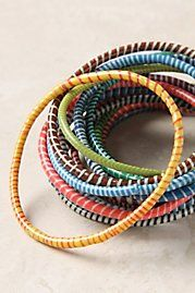colorful little bangles