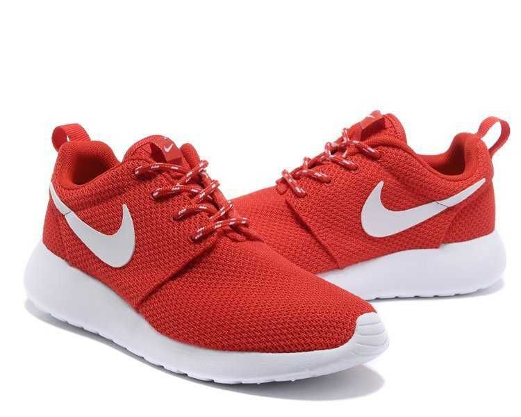 nike roshe run red womens running shoes